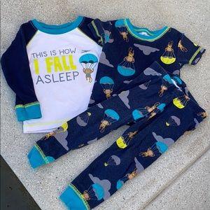 18 mo Carter's pajama set